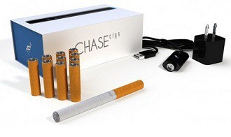 Chase Cigs eCigarette Kit and Battery