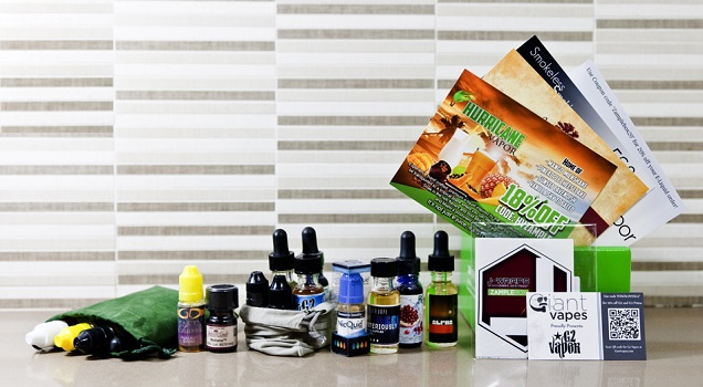 Review of e-liquid subscription services: ZampleBox, VapeBox, Zodist, Craft Vapery, Drip Club