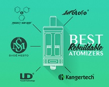 Best Rebuildable Atomizers for Vaping