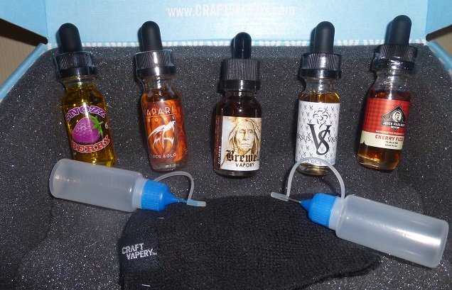 Craft Vapery E-Juice Subscription - Box Four